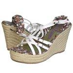 Lois cunha sandália sapatos femininos tamanho branco 81 243 EUR 36 EUA 4, 5 Reino Unido 3, 5