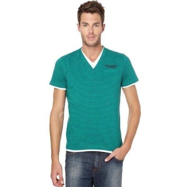 Seaport camiseta manga corta hombre 9333 color verde talla XXL