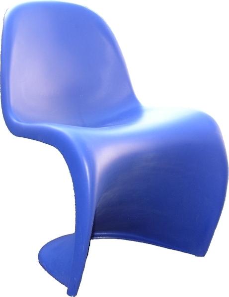 Silla vitra panton chair color azul - Sillas vitra segunda mano ...