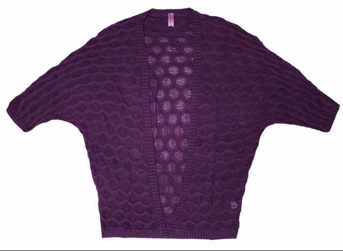 Stix Casual chaqueta corta punto mujer 71300 morado - moda mujer