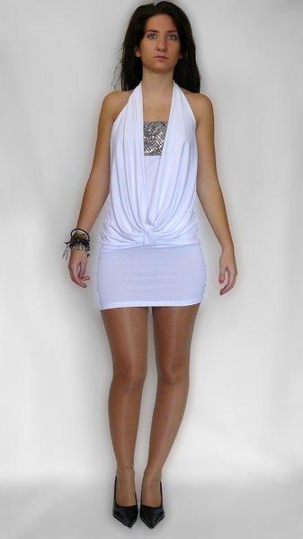 Vestidos de fiesta color blanco