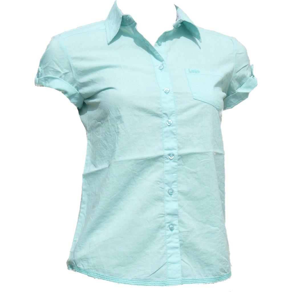 283cf3d62 Blusa verde agua mujer
