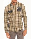Verificado homem camisa | Lois Shirt | Patch Cuadros