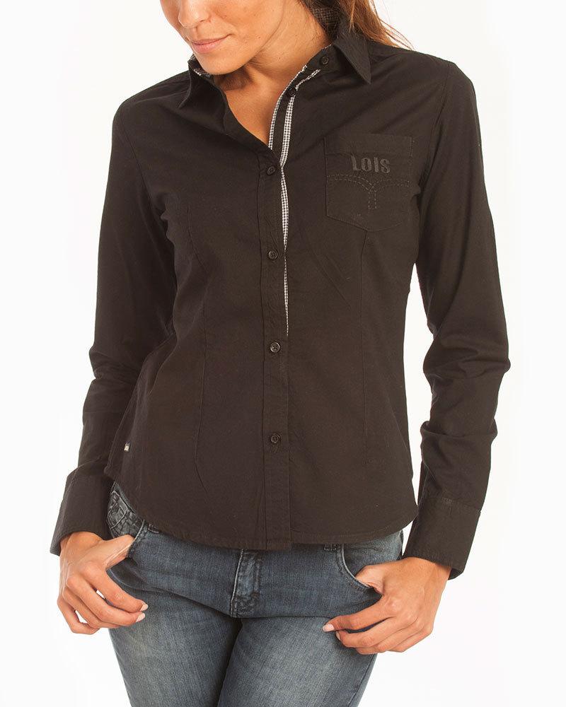 sort skjorte kvinde