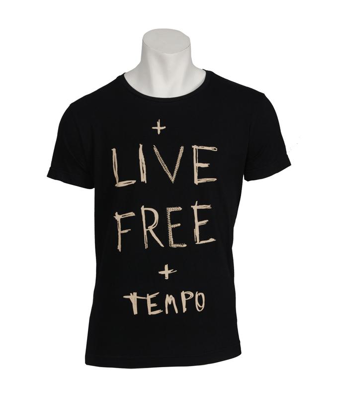 Color hombre Camiseta 9860 Estampado negro eslogan tfvqSvwxH