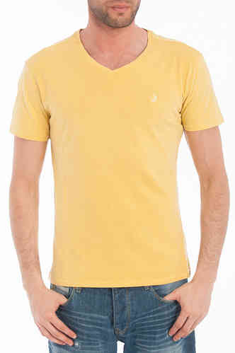 Camiseta hombre Lois | Manga corta | Jimmy Equal | color amarillo