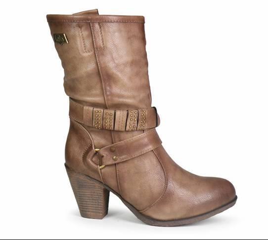 6189ec634 botas media cana mujer