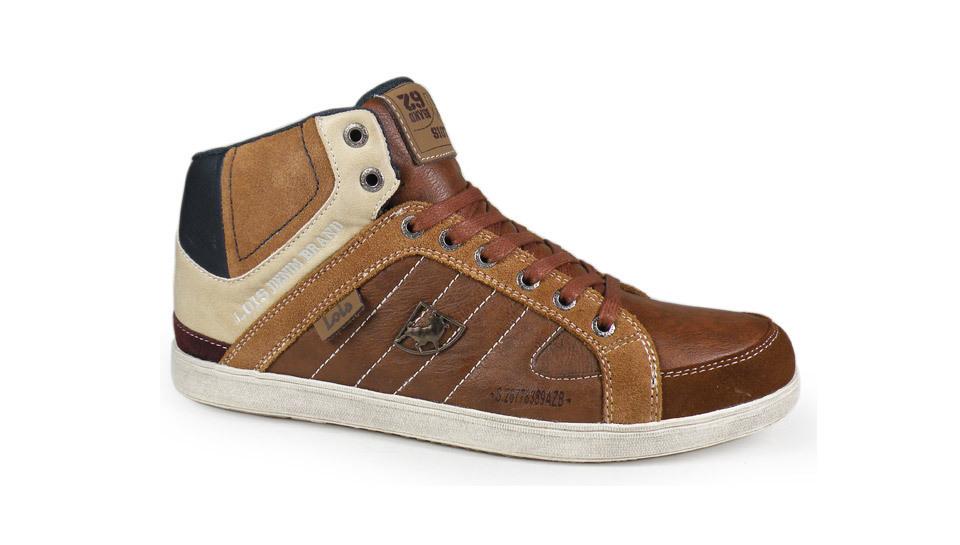 ab553ed8 Zapatillas Botas hombre | Lois | color camel 81885