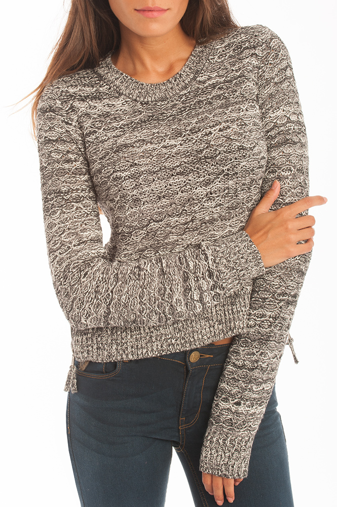 d2b9331b7d7 Sueter punto mujer | Jersey Lois | Topac Desire | gris | mujer