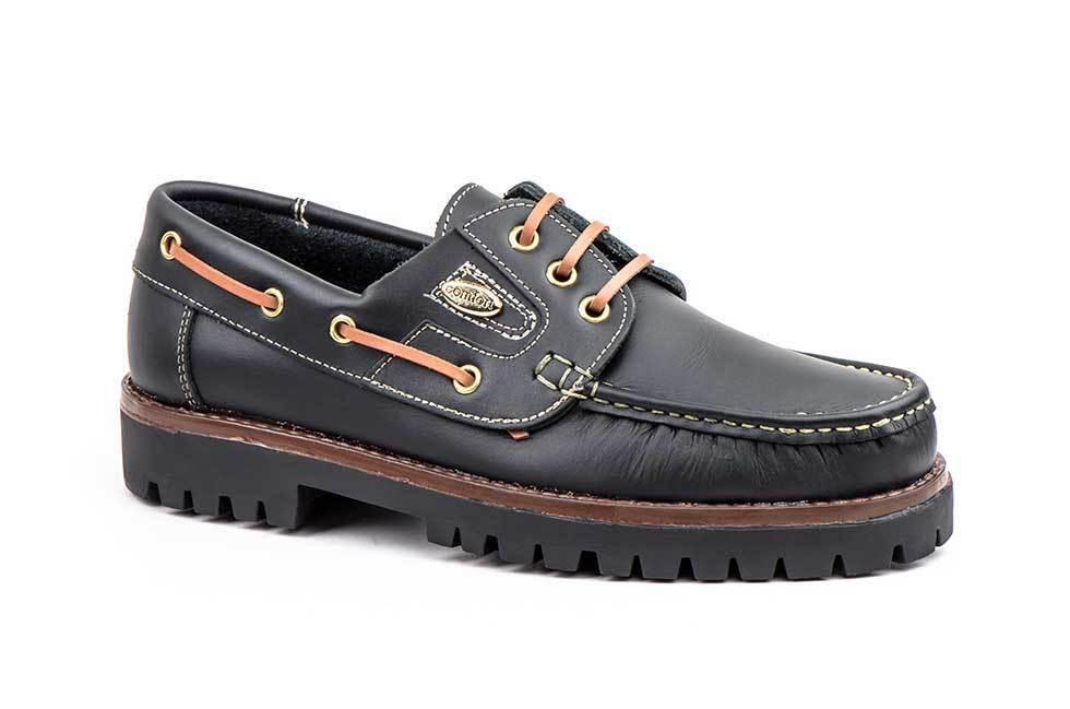 Kiowa Skor Män Brown Leather Linor Nautical  675e90261c669