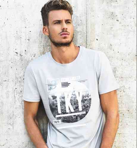 Camiseta hombre manga corta | Caster Jeans | Chatham