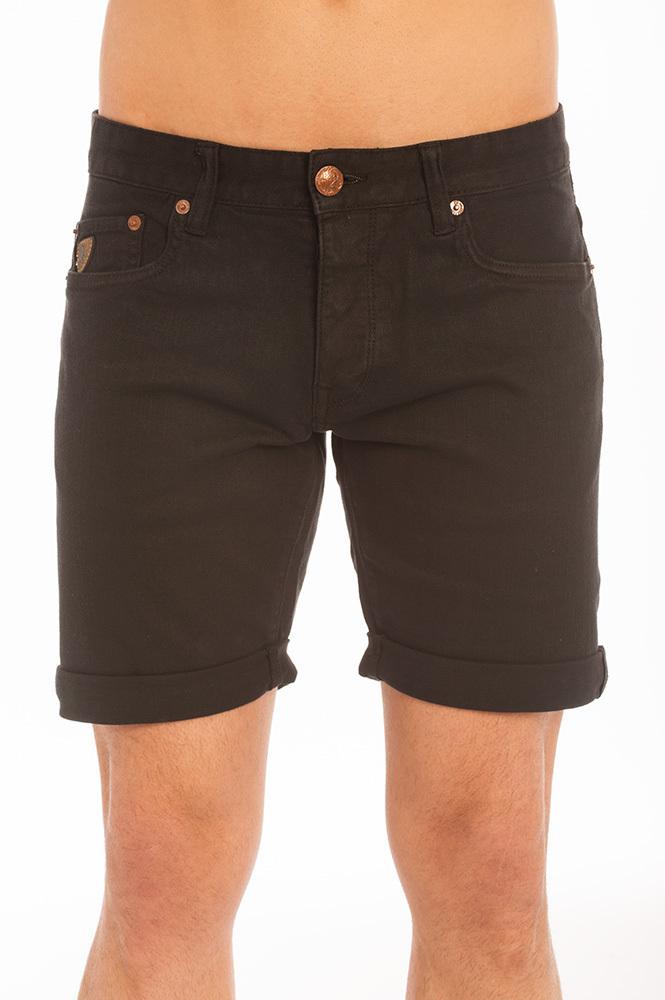 Berm Negro Data Pantalones Hombre Cortos Lois Marvin q1fXtw1