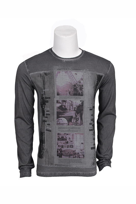 aa3d6036fcd75 Camiseta manga larga hombre