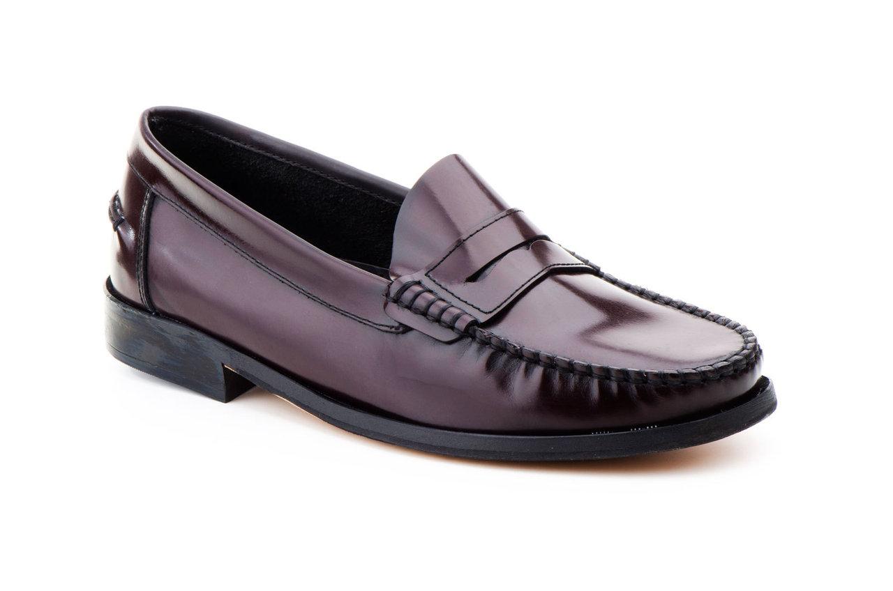 Zapatos Hombre Piel Burdeos Castellanos Suela de Cuero 46-49 XXL 352424959a36