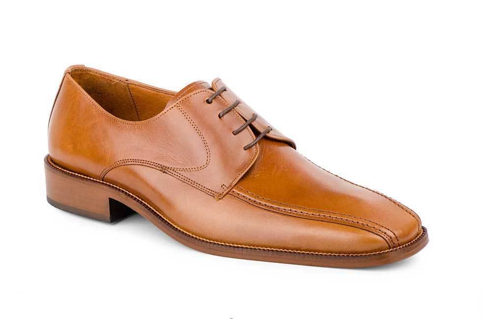 Zapatos Hombre Piel Negro Cordones Suela de Cuero 47-52  e843ba39ee5ab