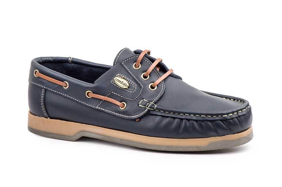 1f1312fd Zapatos Kiowa Hombre   Piel Marino Zapatos Náuticos 39-46   4802 ...