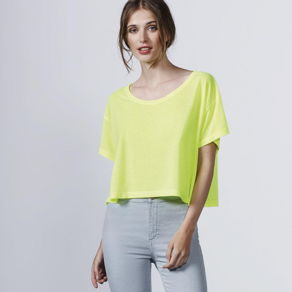 9ffccd88cb60 Camiseta oversize Mujer | Cella | CA7141 | amarilla fluor | casual