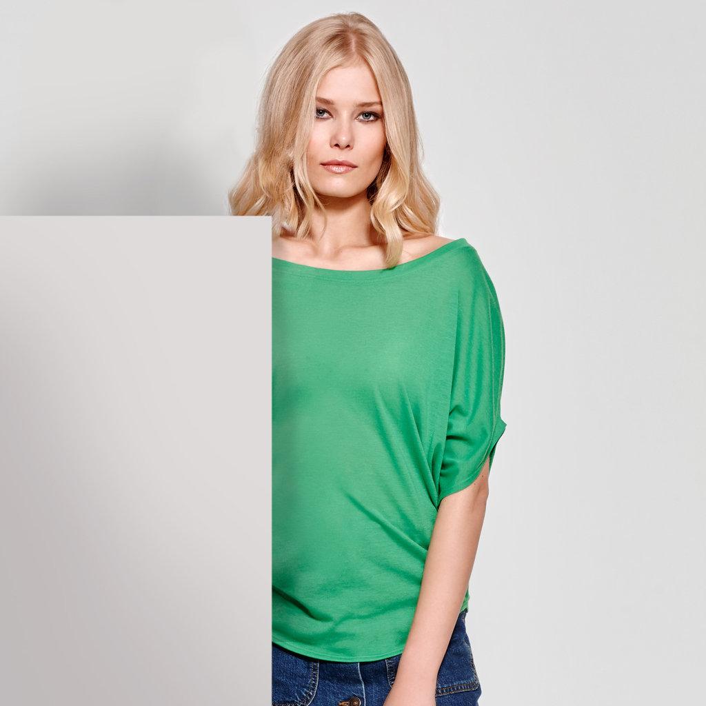 ec4367a7e461 Camiseta oversize Mujer | Vita | CA7134 | verde helecho | casual
