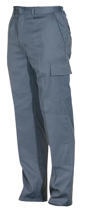 Pantal n largo hombre color negro pa9100 ropa laboral for Color plomo