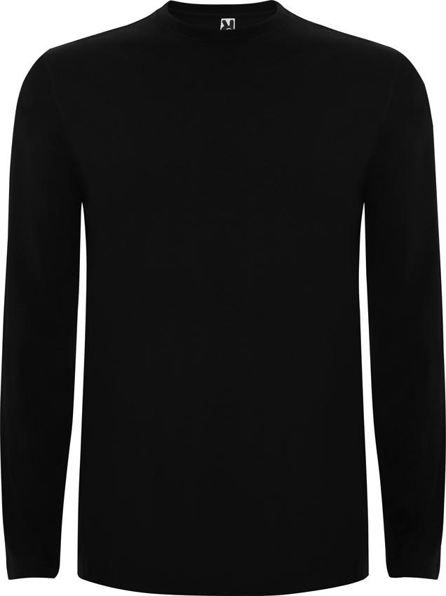 Camiseta Ca1217 Negra 02 Larga HombreManga kuPXZiO