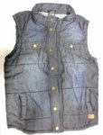 Quilted vest man | Star Wear | Jeans vest