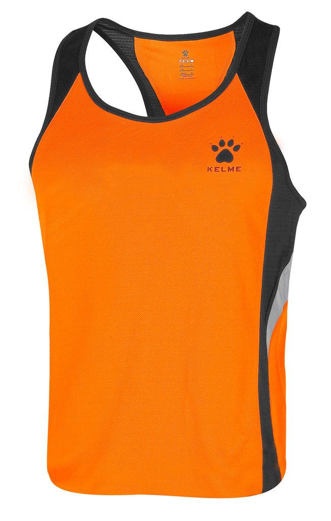 grandes ofertas comprar popular mitad de descuento Kelme   Camiseta atletismo hombre   87254 naranja / negro