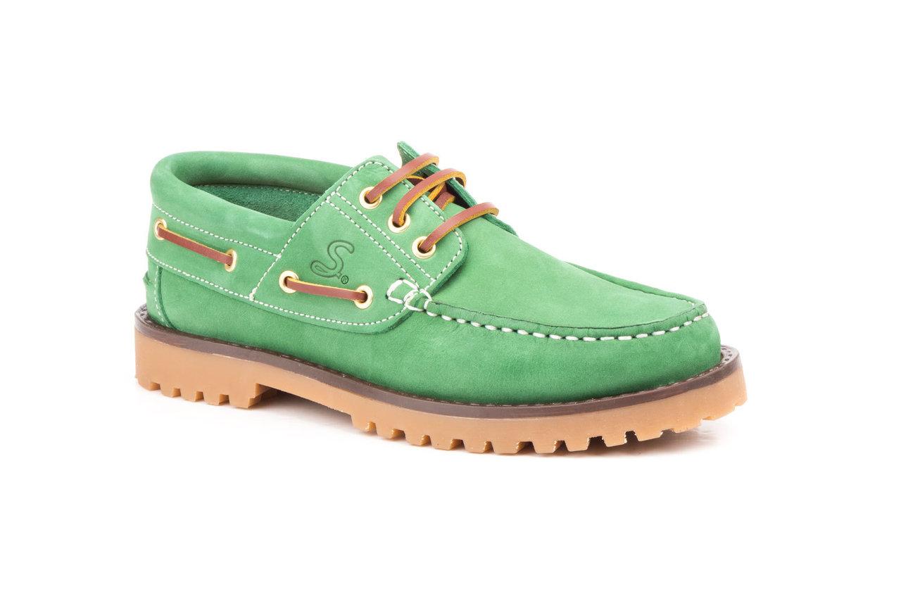 8d0fe8a21f Zapatos náuticos mujer | SCN-5141 | Color verde | Mocasines