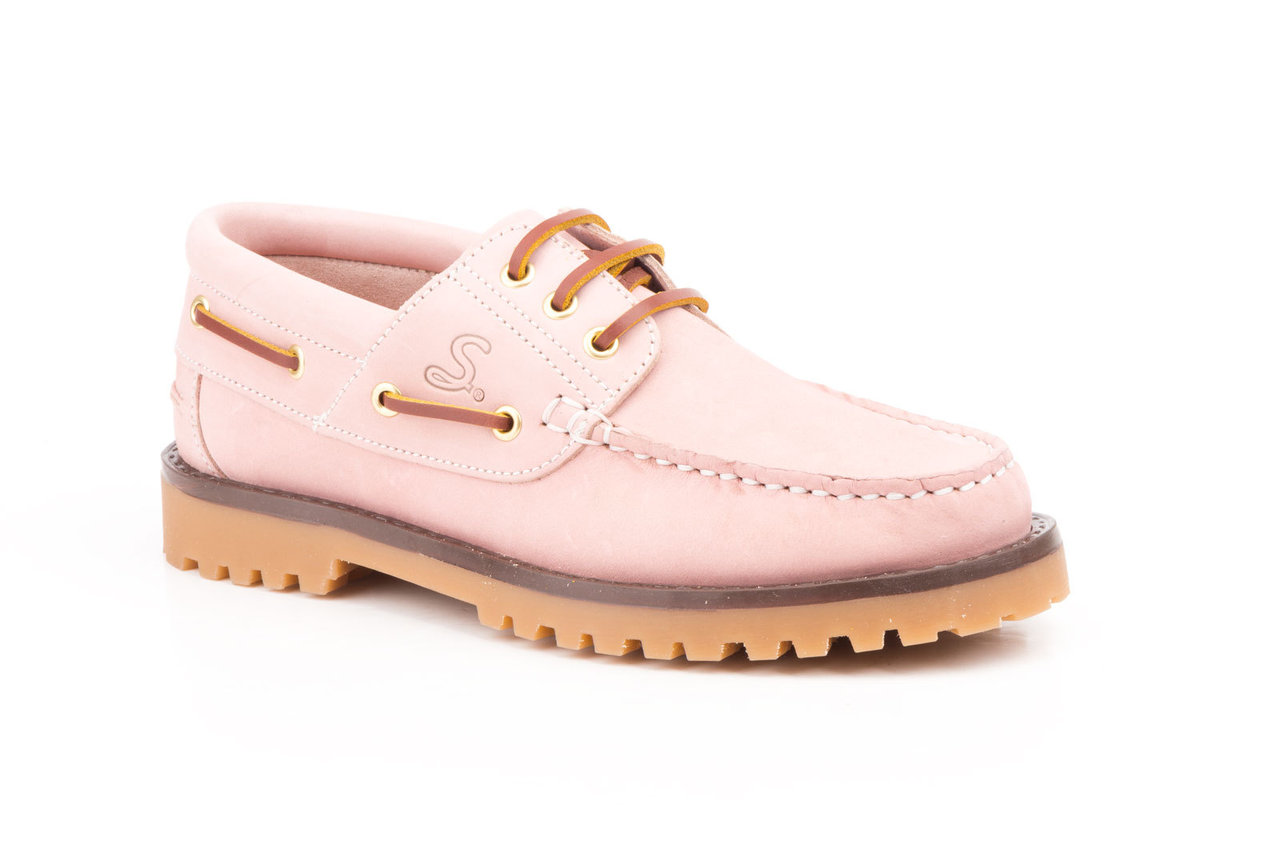 b947bad571 Zapatos náuticos mujer | SCN-5141 | Color rosa | Mocasines