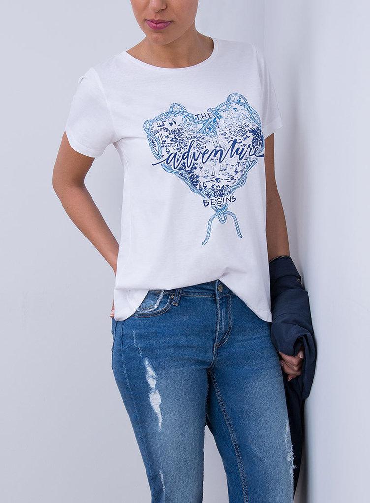 mejor selección 50ab0 b9480 Camiseta manga corta Mujer | Tiffosi | 10015847-110