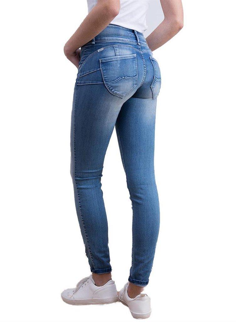 Up slim Jeans Mujer Push Doble Tiffosi 10016907 aAxB4n8f