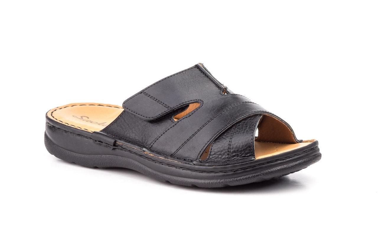 fornitore ufficiale Cheaper qualità superiore Infradito uomo dalla pelle | sandali | RU1950 nero | calzature