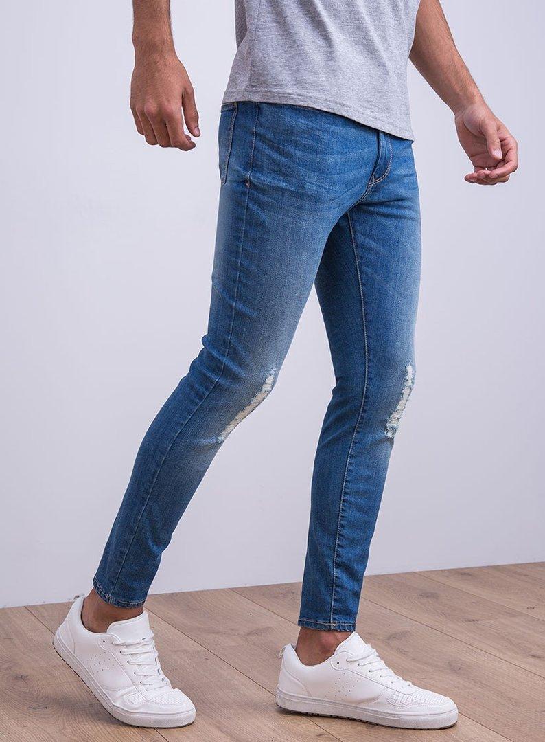 0d397ba2e8 Jeans rotos pitillo Hombre