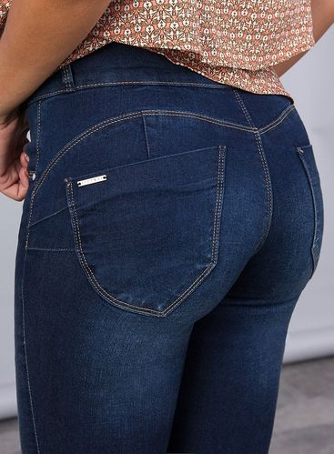Jeans slim Mujer | Tiffosi | 10010101 | Push Up Doble