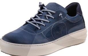62b851fe Zapatilla casual hombre | EXODO 1064EX | Color azul | Made in Spain