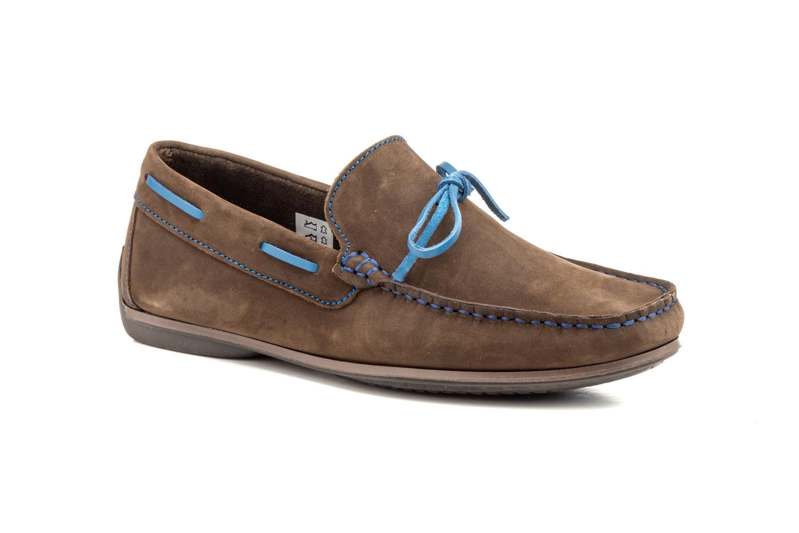 Zapatos Náuticos Hombre   SCN 505 Marrón