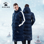 Parka larga | Kelme | Senior | New Street | color marino/blanco