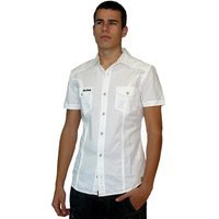 Camisa Hombre Lois blanca Clearwater Tartano