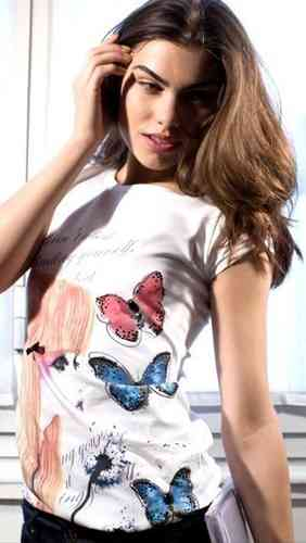 Fly Girl T-Shirt Maglia 1317 01