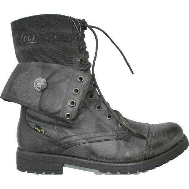 ed8d391a3d2 Lois calzado bota militar mujer | 81119 color marrón talla 37
