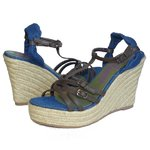 Lois coin sandale chaussures femme jean taille 81 243 EUR 40 USA 7 UK 6