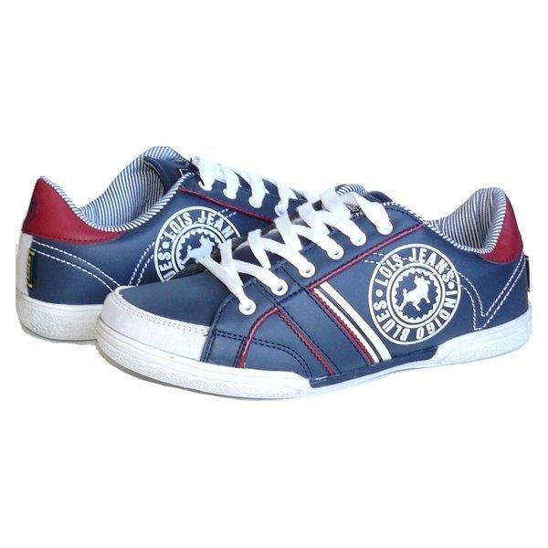 Lois calzado zapatilla deportiva hombre 81264 marino 0073e9393bf