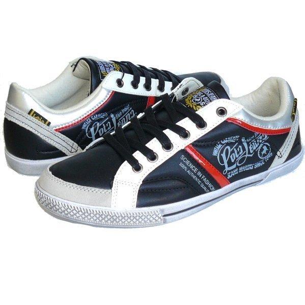 Lois calzado zapatilla deportiva hombre 81282 blanco negro e559583851c