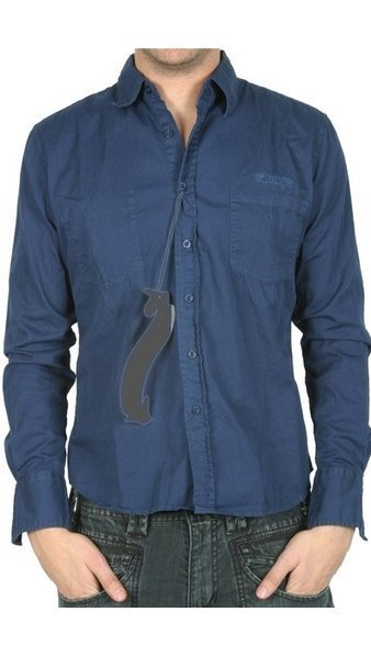 Lois Jeans camisa manga larga hombre TAPAS SIRO color azul talla XXL ... c1c5920ebd0e2