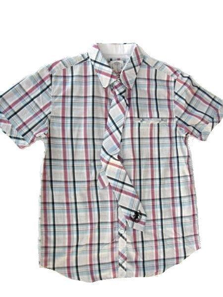 ... Lois Jeans camisa manga corta hombre 14006 POISON 24 ESPIRY cuadros talla  XL 7d0305e5d8d3e