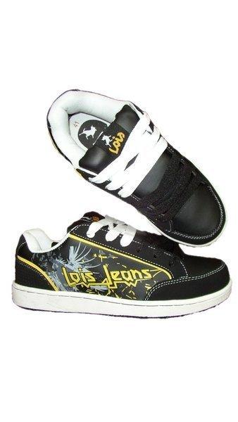 Lois Jeans Calzado Hombre 80187 Negro E1 5a1a09ba850