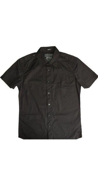 Lois Jeans camisa manga corta hombre Marquesado Goran color negro talla XXL 36122bab4f128