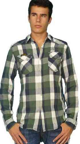 Lois Jeans Camisa Manga Larga Hombre 14081 Tedy 8114 Arizona Color 000
