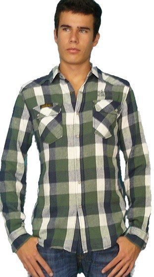 6ff3a32b74 Lois Jeans camisa manga larga hombre 14081 TEDY8114 ARIZONA color 000 talla  S