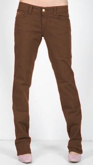 23f9b78c477 Lois Jeans Pantalon Casual Mujer Neylyttc Monicly B 88 Marron ...