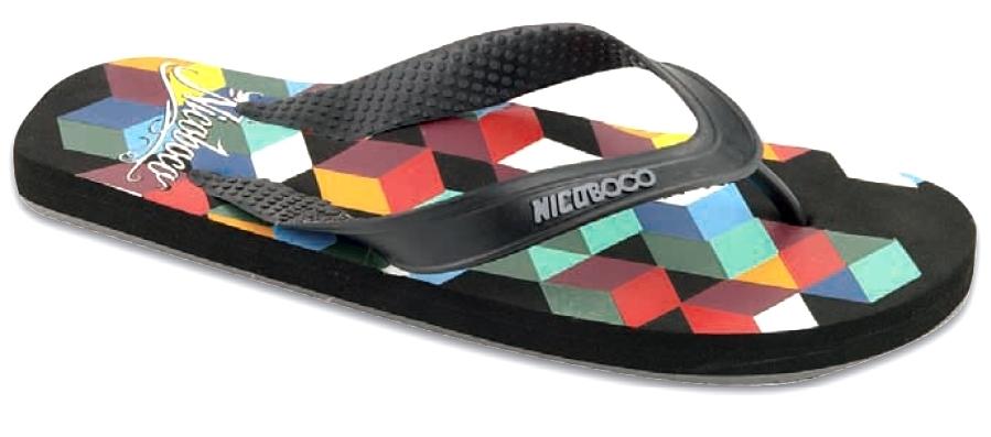 Nicoboco calzado hombre chanclas playa 15200 070 negro 13864268fb28
